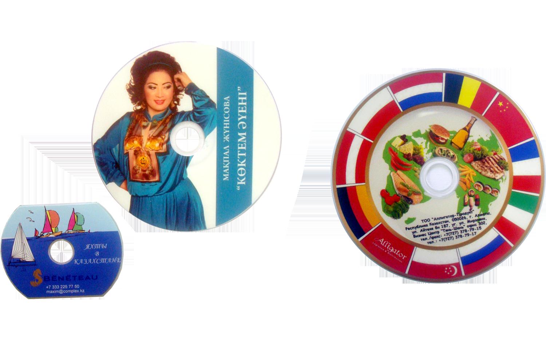 Брендирование cd, dvd